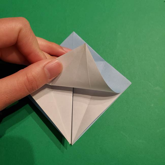 折り紙のポケモン カメックスの折り方作り方(14)