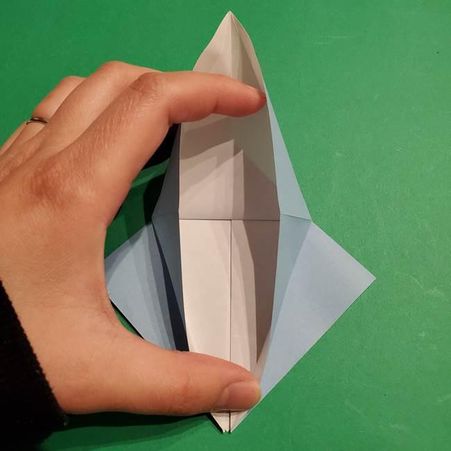 折り紙のポケモン カメックスの折り方作り方(15)