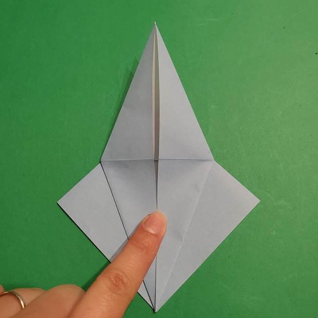 折り紙のポケモン カメックスの折り方作り方(16)
