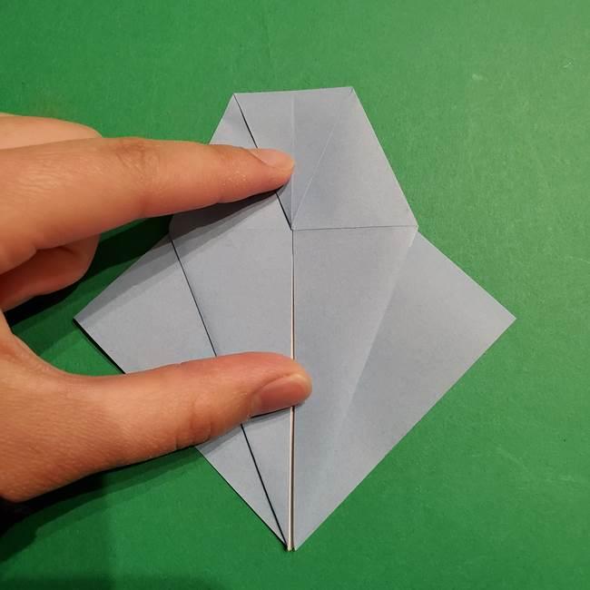 折り紙のポケモン カメックスの折り方作り方(17)