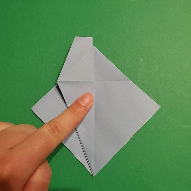 折り紙のポケモン カメックスの折り方作り方(19)