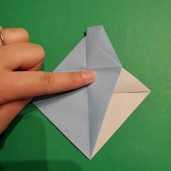折り紙のポケモン カメックスの折り方作り方(22)