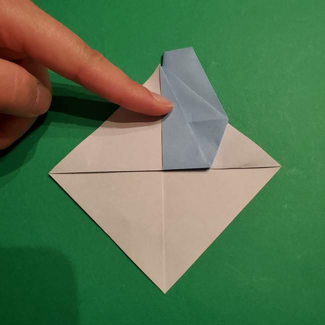 折り紙のポケモン カメックスの折り方作り方(23)