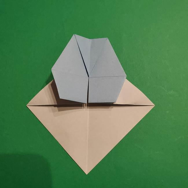 折り紙のポケモン カメックスの折り方作り方(24)