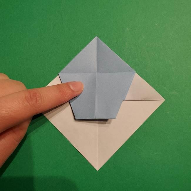 折り紙のポケモン カメックスの折り方作り方(25)