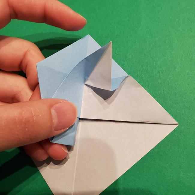 折り紙のポケモン カメックスの折り方作り方(27)