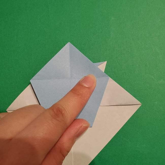 折り紙のポケモン カメックスの折り方作り方(29)