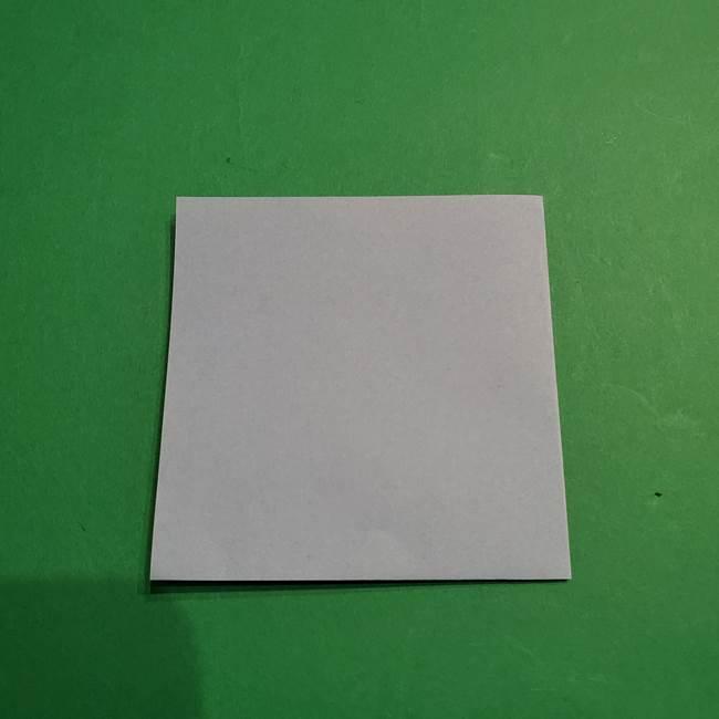 折り紙のポケモン カメックスの折り方作り方(3)