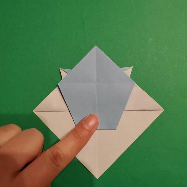 折り紙のポケモン カメックスの折り方作り方(30)