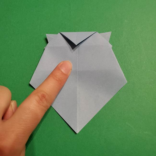 折り紙のポケモン カメックスの折り方作り方(39)