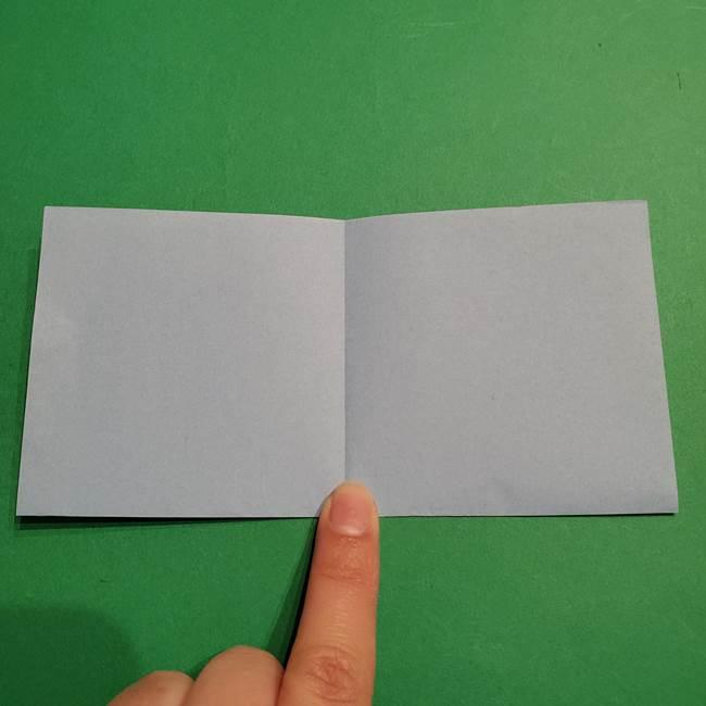 折り紙のポケモン カメックスの折り方作り方(4)