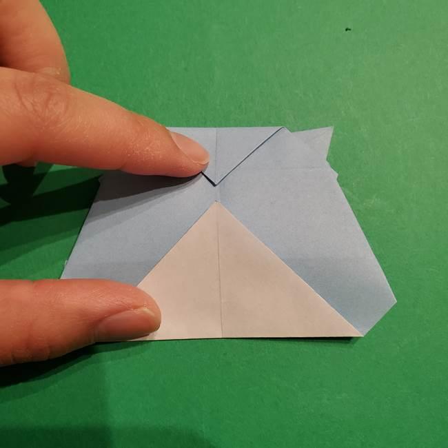 折り紙のポケモン カメックスの折り方作り方(40)