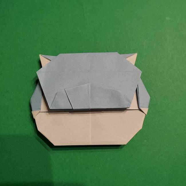 折り紙のポケモン カメックスの折り方作り方(44)