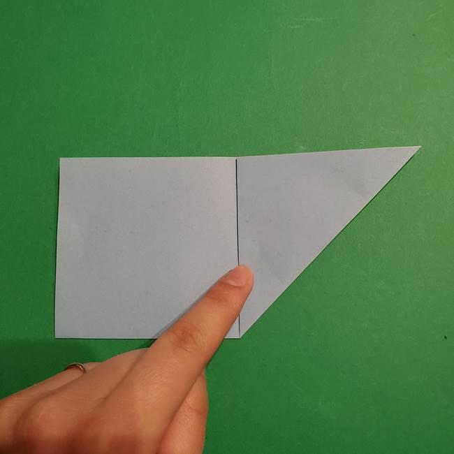 折り紙のポケモン カメックスの折り方作り方(5)