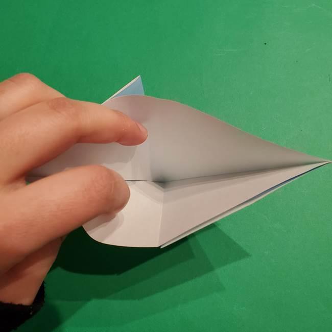 折り紙のポケモン カメックスの折り方作り方(8)