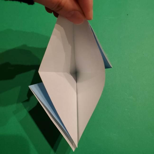 折り紙のポケモン カメックスの折り方作り方(9)