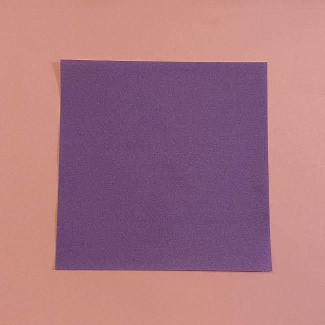 折り紙の兜(かぶと) 中級者向けの折り方作り方 (1)
