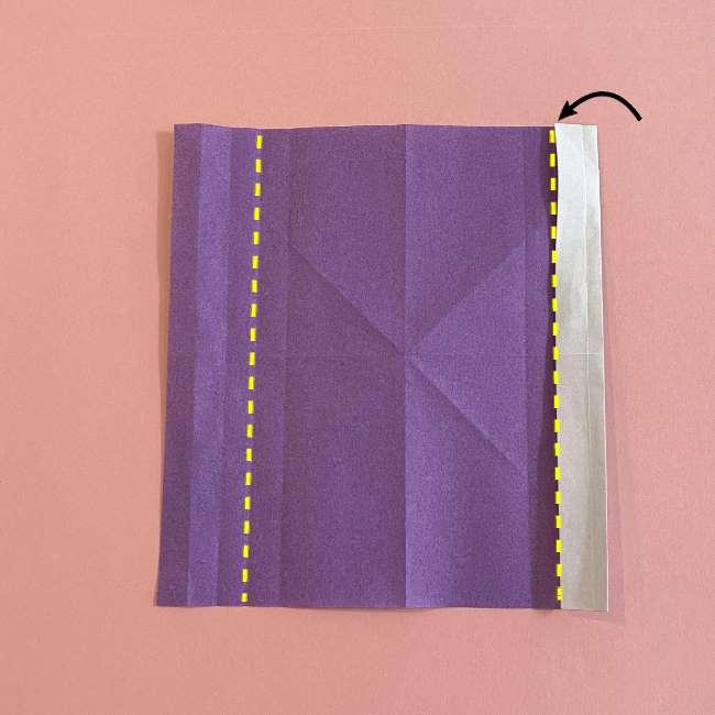 折り紙の兜(かぶと) 中級者向けの折り方作り方 (10)