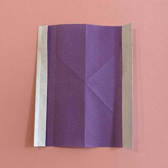 折り紙の兜(かぶと) 中級者向けの折り方作り方 (11)