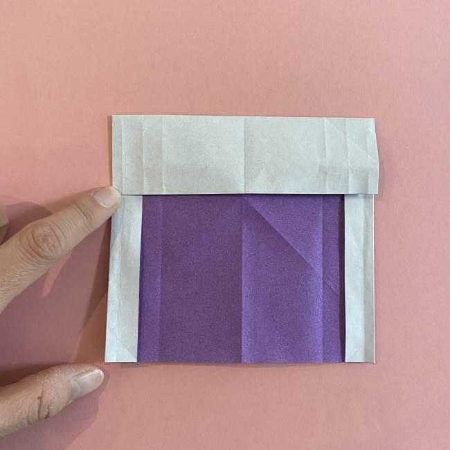 折り紙の兜(かぶと) 中級者向けの折り方作り方 (12)
