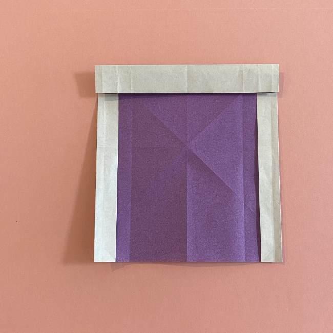 折り紙の兜(かぶと) 中級者向けの折り方作り方 (13)