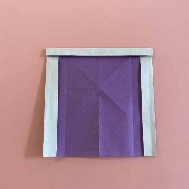 折り紙の兜(かぶと) 中級者向けの折り方作り方 (14)