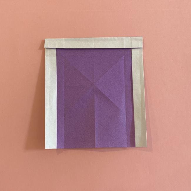 折り紙の兜(かぶと) 中級者向けの折り方作り方 (15)