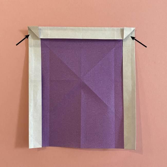 折り紙の兜(かぶと) 中級者向けの折り方作り方 (16)