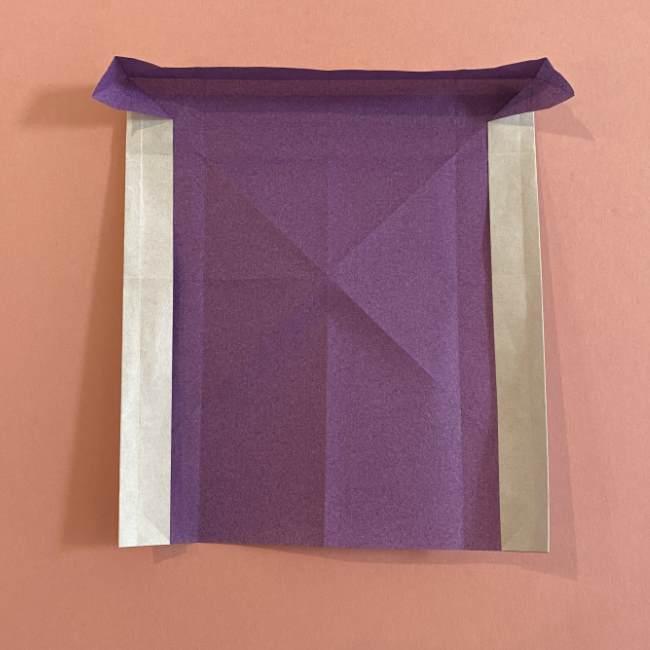 折り紙の兜(かぶと) 中級者向けの折り方作り方 (17)