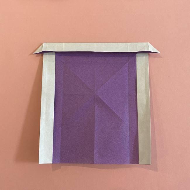 折り紙の兜(かぶと) 中級者向けの折り方作り方 (18)