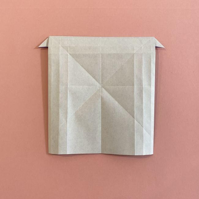 折り紙の兜(かぶと) 中級者向けの折り方作り方 (19)
