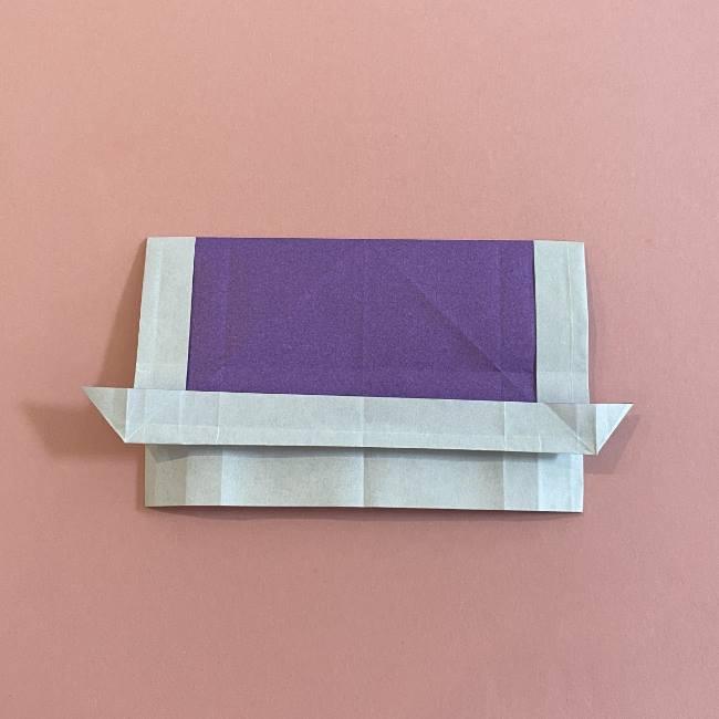 折り紙の兜(かぶと) 中級者向けの折り方作り方 (20)