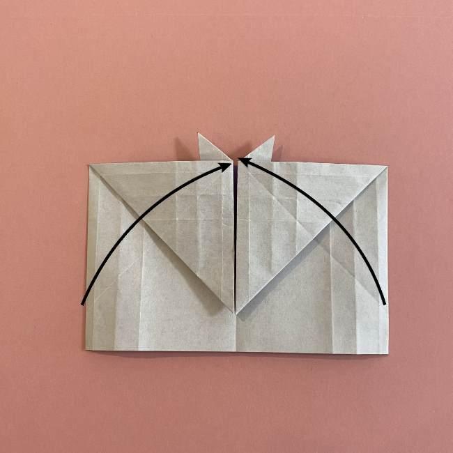 折り紙の兜(かぶと) 中級者向けの折り方作り方 (21)