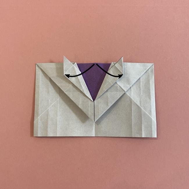 折り紙の兜(かぶと) 中級者向けの折り方作り方 (22)