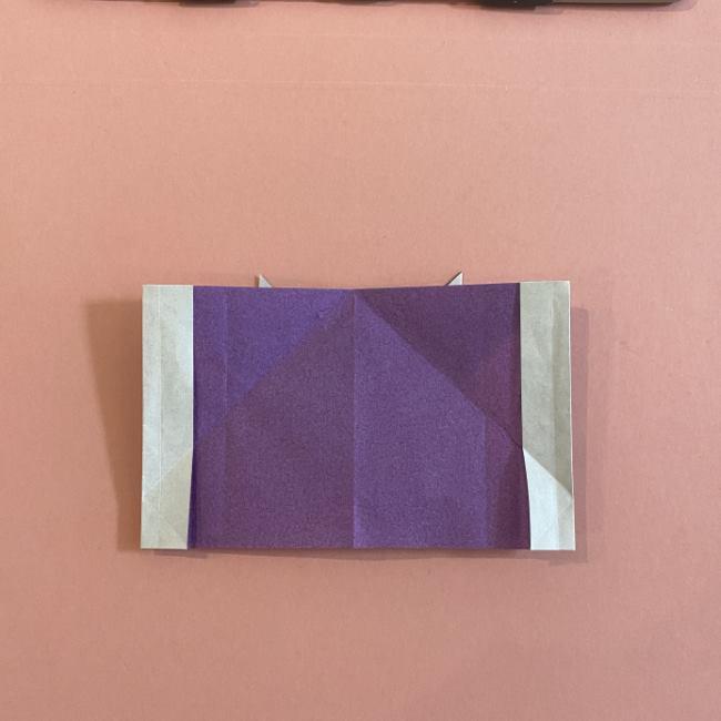 折り紙の兜(かぶと) 中級者向けの折り方作り方 (23)