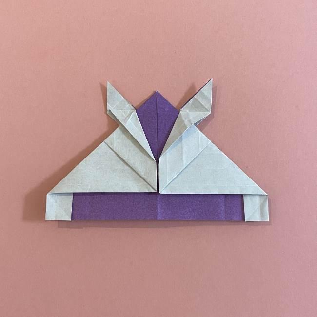 折り紙の兜(かぶと) 中級者向けの折り方作り方 (26)