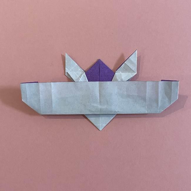 折り紙の兜(かぶと) 中級者向けの折り方作り方 (27)