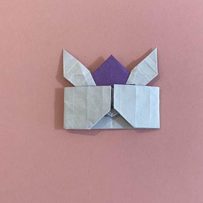 折り紙の兜(かぶと) 中級者向けの折り方作り方 (31)