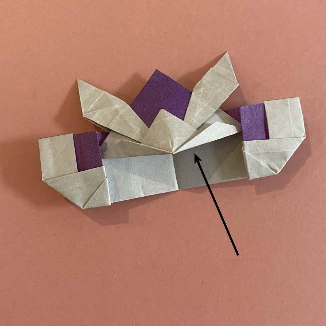 折り紙の兜(かぶと) 中級者向けの折り方作り方 (33)