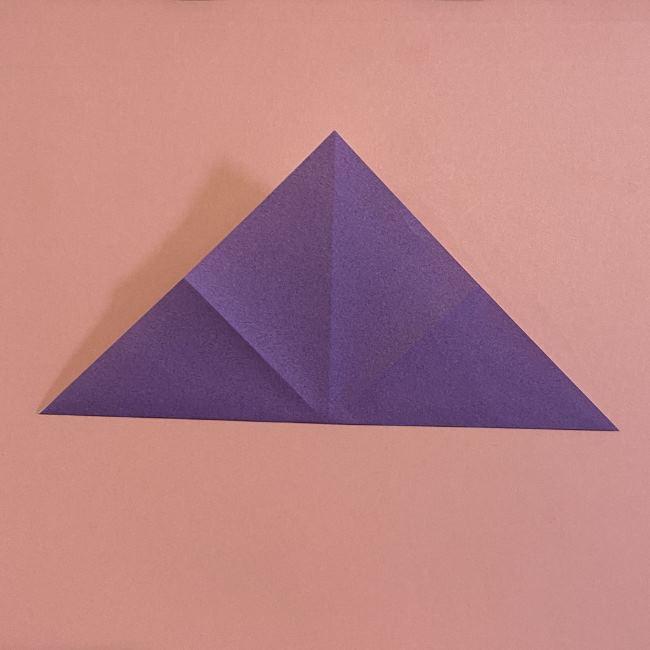 折り紙の兜(かぶと) 中級者向けの折り方作り方 (5)