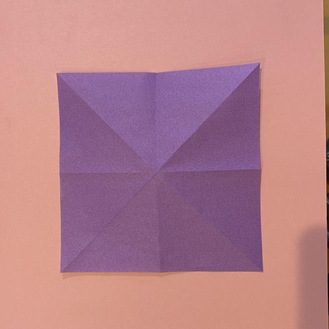 折り紙の兜(かぶと) 中級者向けの折り方作り方 (6)