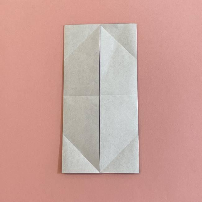折り紙の兜(かぶと) 中級者向けの折り方作り方 (7)