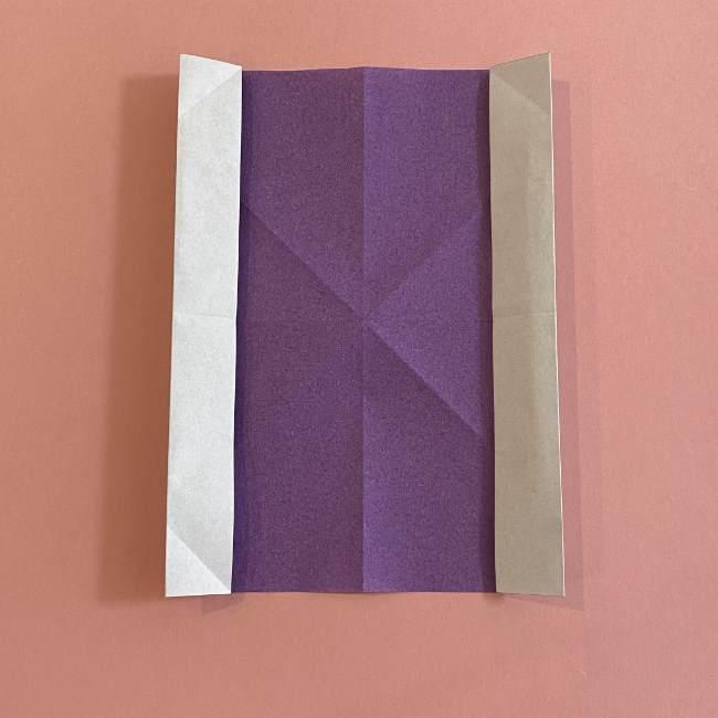 折り紙の兜(かぶと) 中級者向けの折り方作り方 (8)