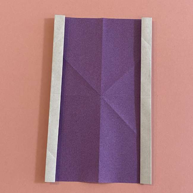 折り紙の兜(かぶと) 中級者向けの折り方作り方 (9)
