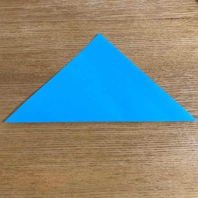 折り紙 ケロマツの簡単な折り方作り方 (1)