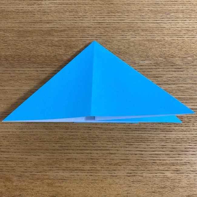 折り紙 ケロマツの簡単な折り方作り方 (10)