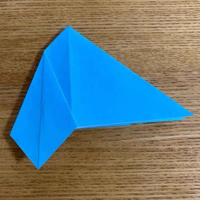 折り紙 ケロマツの簡単な折り方作り方 (13)