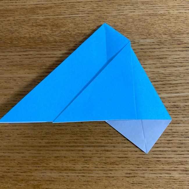 折り紙 ケロマツの簡単な折り方作り方 (14)