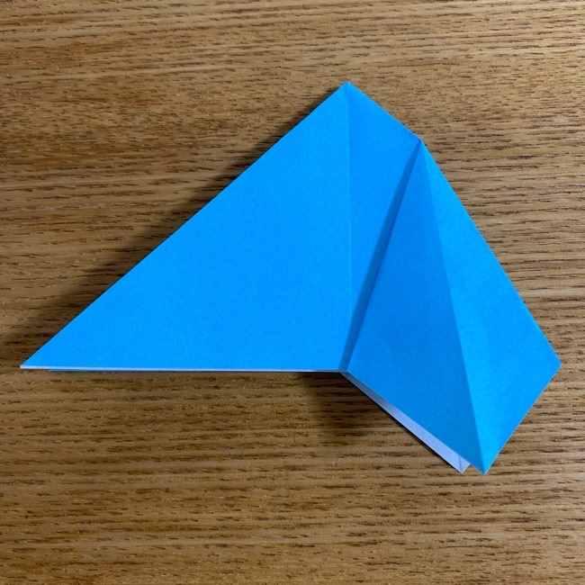 折り紙 ケロマツの簡単な折り方作り方 (15)
