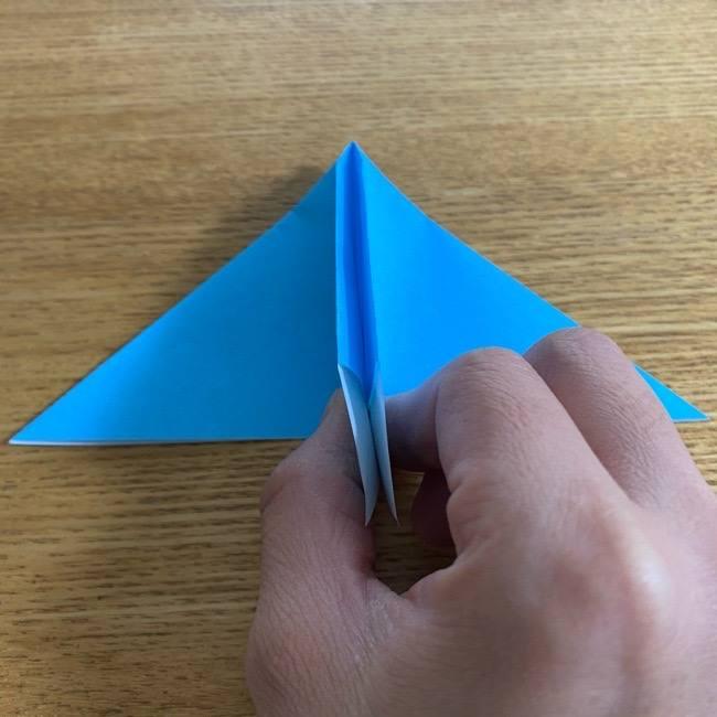 折り紙 ケロマツの簡単な折り方作り方 (17)
